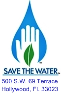 save the water