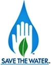 Save the water logo