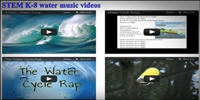 Click here to go to STEM water science music videos