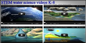 Click here to go to STEM water science videos K-8