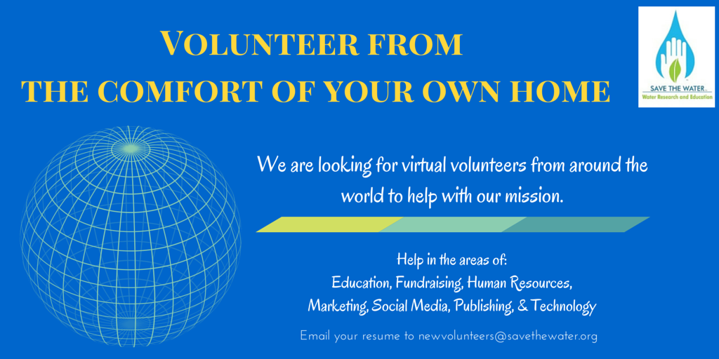 Volunteer from the comfort of your own home