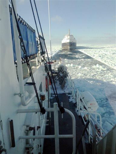 Frozen Great Lakes
