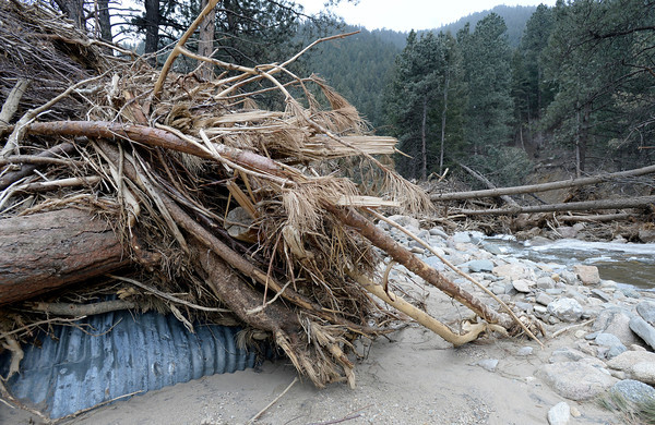 Spring Flooding Threats Boulder County