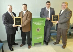 Sheriff's Office and Niagara County drug drop-box initiative