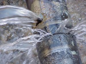Water main breaks