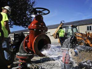 Toxic chemicals increase in Census Bureau water