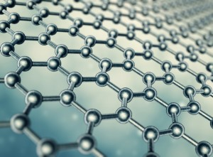 Image of graphene molecular sheet via shutterstock.