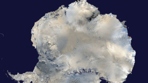 A satellite view of Antarctica (Phto credit: Reuters/NASA)