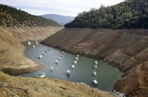 fracking California drought