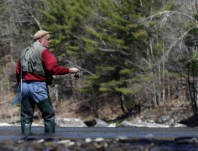 Trout Unlimited, the nation's oldest and largest coldwater fisheries conservation organization dedicated to conserving, protecting and restoring North America's trout and salmon and their watersheds, applauded the announcement Wednesday. (Photo credit: AP Photo/Mike Groll)