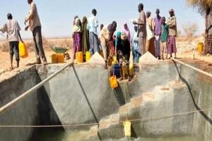 Community water tank, Waridaad village, Somaliland. (Photo credit: Alun McDonald/Oxfam)