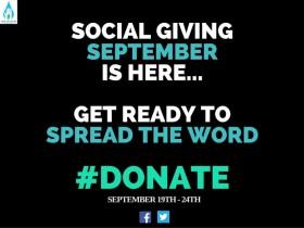 Social Giving September