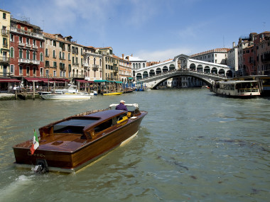 Venice Grand Canal Rialto Bridge