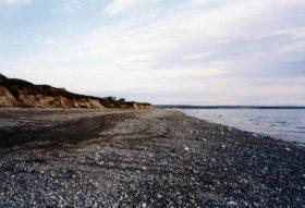 Bristol bay shore line in Alaska where mixing zones threaten clean water and aquatic life.