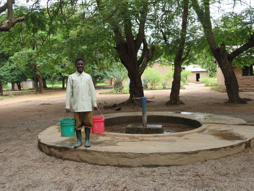 Groundwater pumps provide vital drinking water